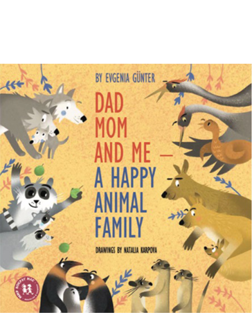 Dad, Mom and Me – A Happy Animal Family