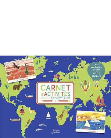 Activity Book for Little Explorers